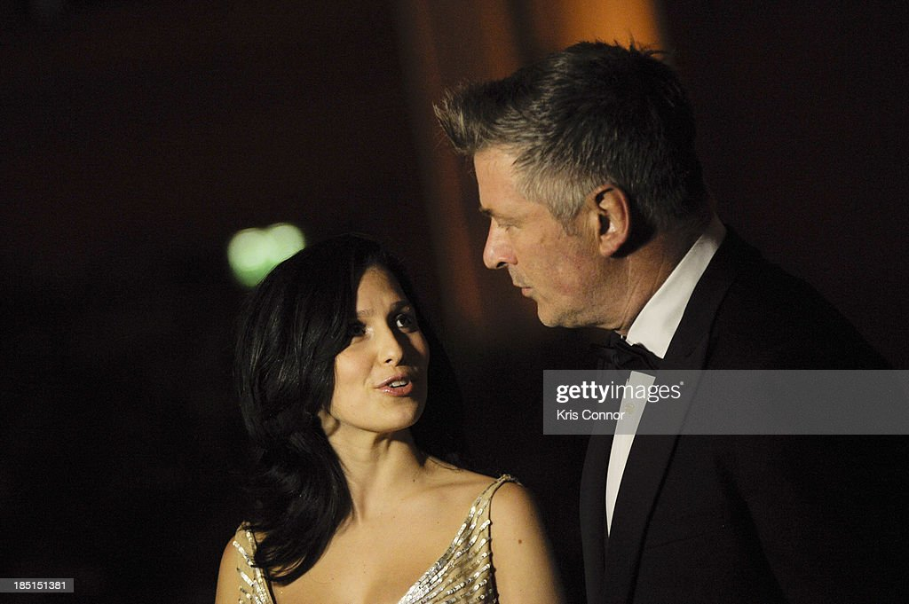 <a gi-track='captionPersonalityLinkClicked' href=/galleries/search?phrase=Hilaria+Baldwin&family=editorial&specificpeople=7856471 ng-click='$event.stopPropagation()'>Hilaria Baldwin</a> and Alex Baldwin attend the Some Enlightened Evening Benefit Gala at Andrew W. Mellon Auditorium on October 17, 2013 in Washington, DC.