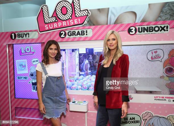 Hilaria Baldwin and Nicky Hilton Rothschild attend the launch of the LOL Surprise Unboxing Video Booth and LOL Surprise Pets hosted by Hilaria...
