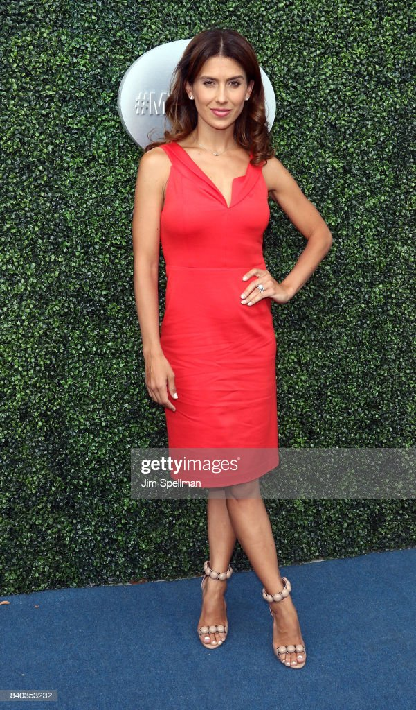 Hilaria Baldwin attends the 17th Annual USTA Foundation Opening Night Gala at USTA Billie Jean King National Tennis Center on August 28, 2017 in the Queens borough of New York City.