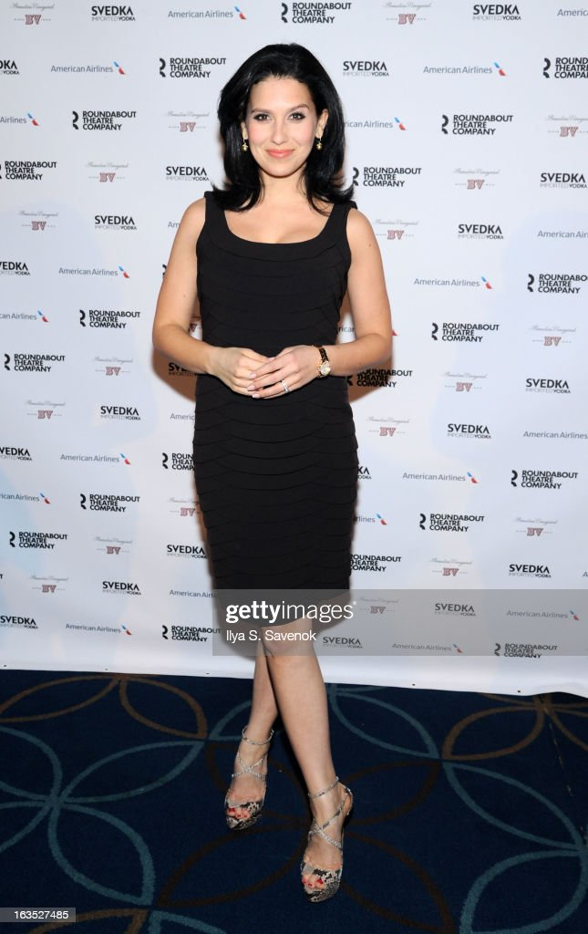 Hilaria Baldwin attends the 2013 Roundabout Theatre Company Spring Gala at Hammerstein Ballroom on March 11, 2013 in New York City.