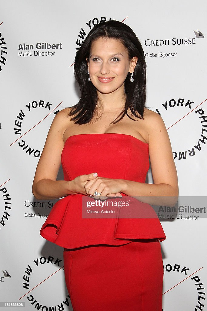 <a gi-track='captionPersonalityLinkClicked' href=/galleries/search?phrase=Hilaria+Baldwin&family=editorial&specificpeople=7856471 ng-click='$event.stopPropagation()'>Hilaria Baldwin</a> attends the New York Philharmonic 172nd Season Opening Night Gala at Avery Fisher Hall, Lincoln Center on September 25, 2013 in New York City.