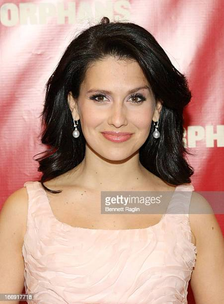 Hilaria Baldwin attends the 'Orphans' Broadway Opening Night at the Gerald Schoenfeld Theatre on April 18 2013 in New York City