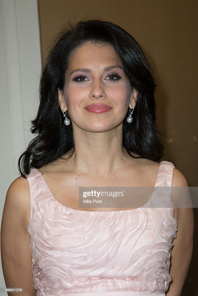 Hilaria Baldwin attends the 'Orphans' Broadway opening night at the Gerald Schoenfeld Theatre on April 18, 2013 in New York City.