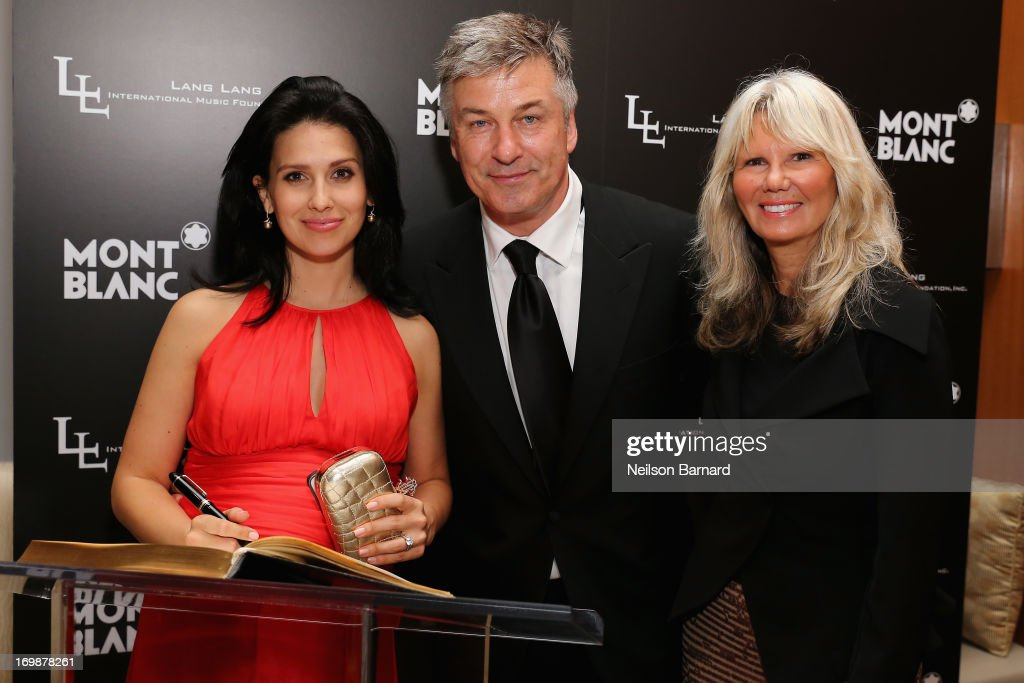 Hilaria Thomas, <a gi-track='captionPersonalityLinkClicked' href=/galleries/search?phrase=Alec+Baldwin&family=editorial&specificpeople=202864 ng-click='$event.stopPropagation()'>Alec Baldwin</a> and Montblanc Director PR International and Cultural Affairs, Ingrid Roosen-Trinks attend The Lang Lang International Music Foundation Inaugural Gala supported by Montblanc at 10 on The Park on June 3, 2013 in New York City.