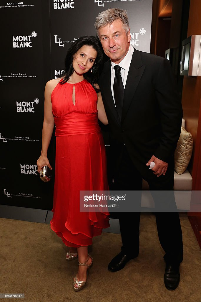Hilaria Thomas and <a gi-track='captionPersonalityLinkClicked' href=/galleries/search?phrase=Alec+Baldwin&family=editorial&specificpeople=202864 ng-click='$event.stopPropagation()'>Alec Baldwin</a> attend The Lang Lang International Music Foundation Inaugural Gala supported by Montblanc at 10 on The Park on June 3, 2013 in New York City.