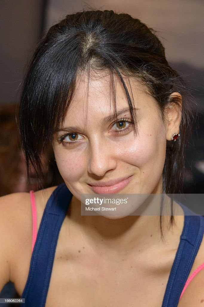Hilaria Thomas attends SoulCycle's Soul Relief Rides at SoulCycle Tribeca on November 11, 2012 in New York City.