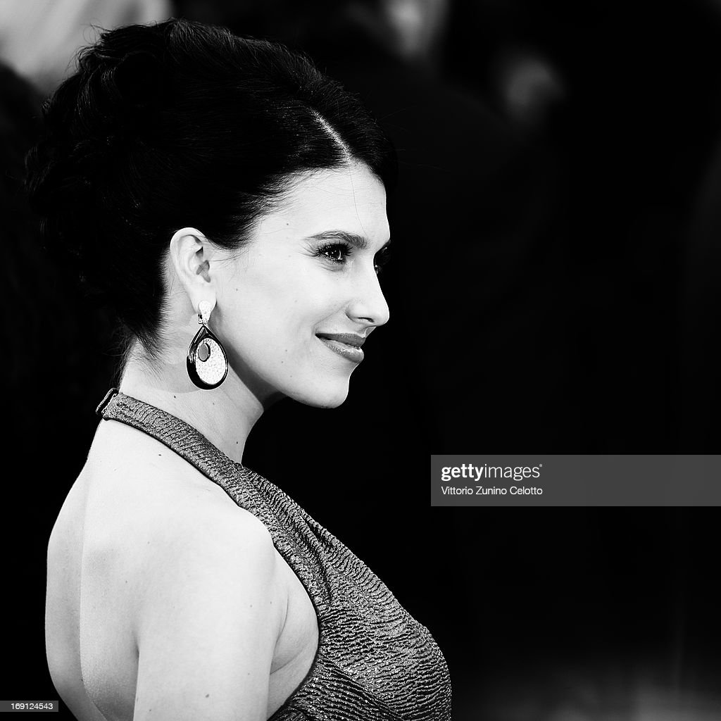 Hilaria Thomas attends the 'Blood Ties' Premiere during the 66th Annual Cannes Film Festival at Grand Theatre Lumiere on May 20, 2013 in Cannes, France..