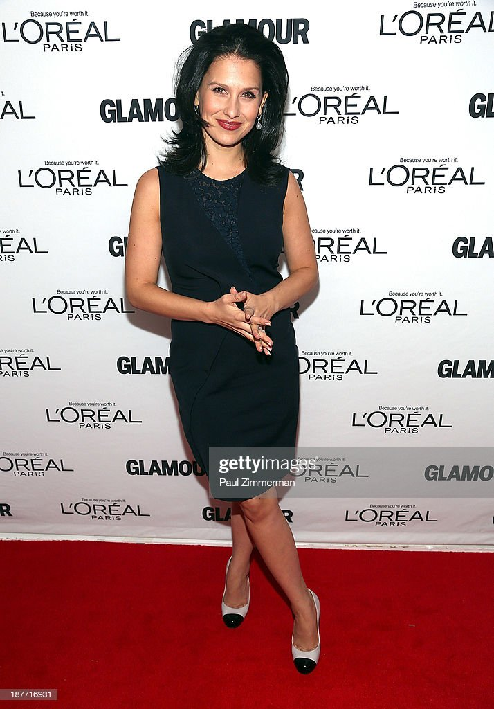 Hilaria Thomas attends the Glamour Magazine 23rd annual Women Of The Year gala on November 11, 2013 in New York, United States.