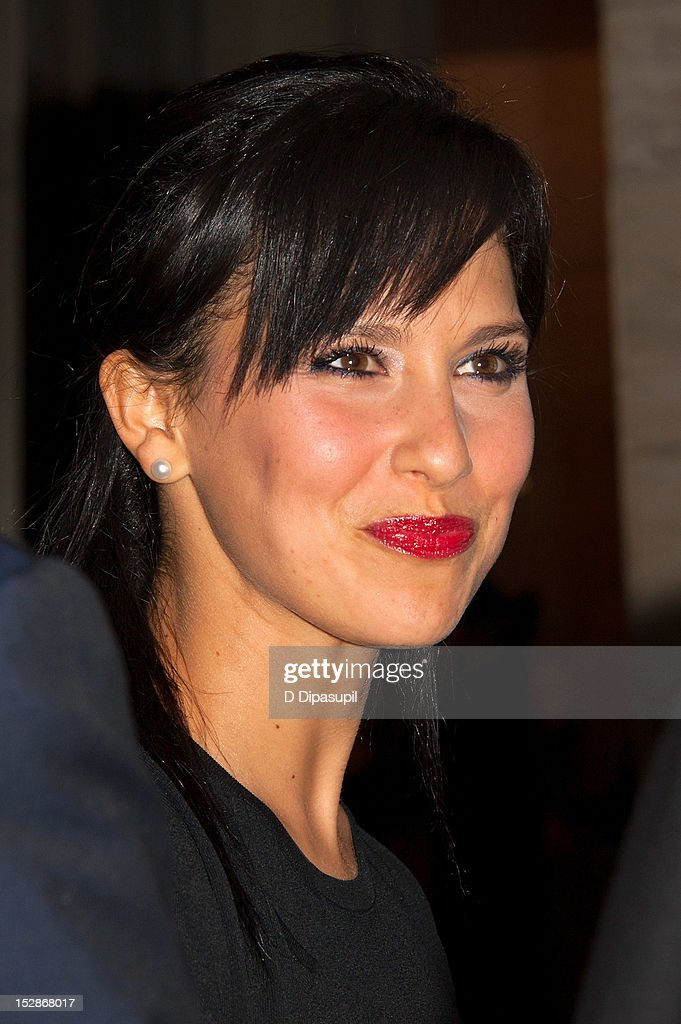 Hilaria Thomas attends the New York Philharmonic 171st season opening gala at Avery Fisher Hall at Lincoln Center for the Performing Arts on September 27, 2012 in New York City.