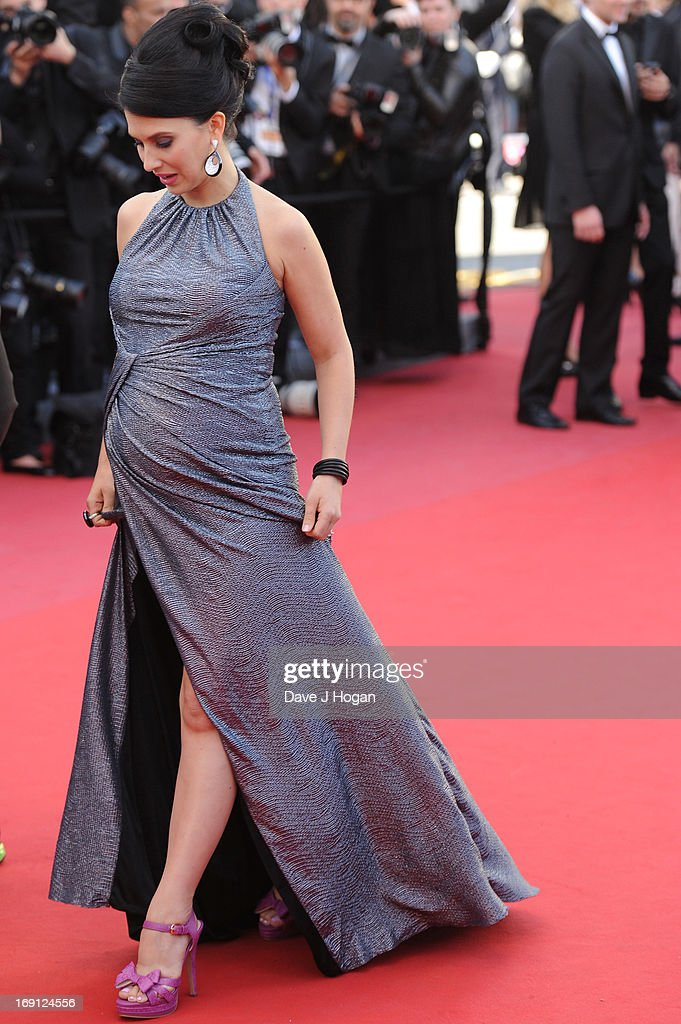 Hilaria Thomas attends the premiere for 'Seduced and Abandoned' during The 66th Annual Cannes Film Festival at the Palais des Festivals on May 20, 2013 in Cannes, France.