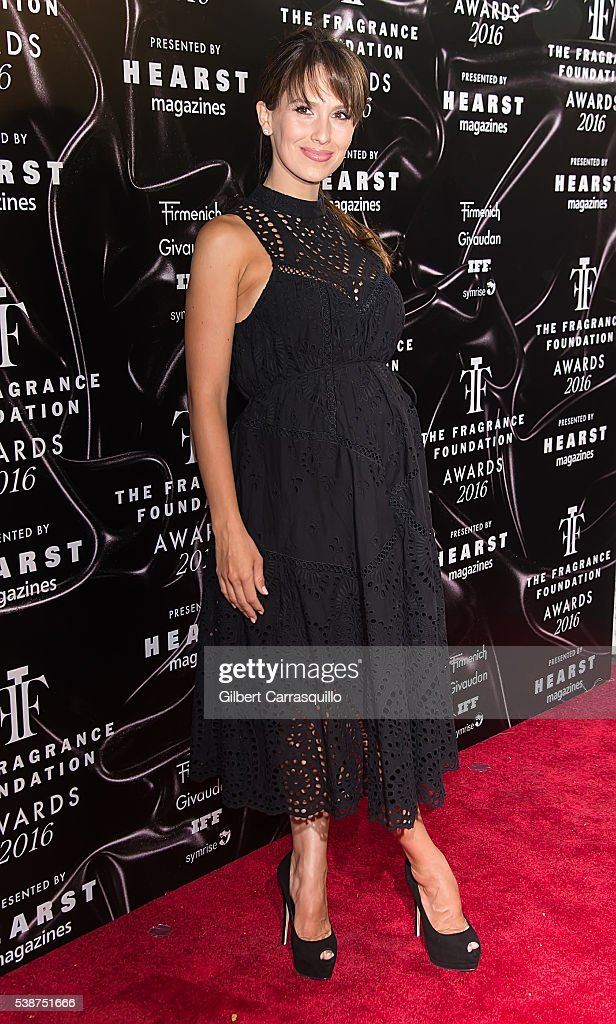 Hilaria Thomas Baldwin attends 2016 Fragrance Foundation Awards at Alice Tully Hall at Lincoln Center on June 7 2016 in New York City