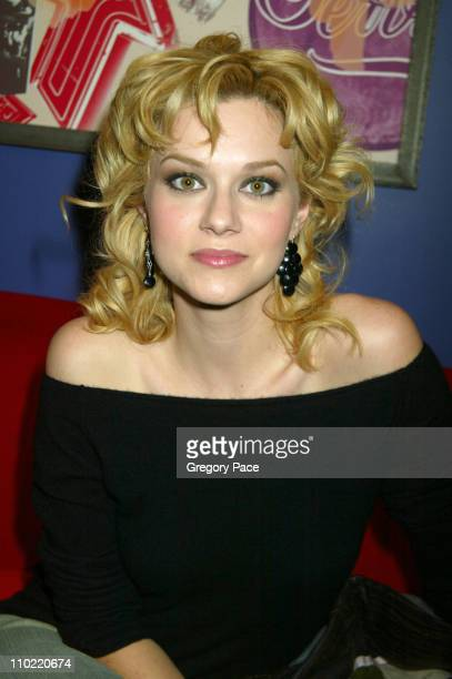Hilarie Burton during The Cast of 'One Tree Hill' Takes Over MTV's 'TRL' January 25 2005 at MTV Studios in New York City New York United States
