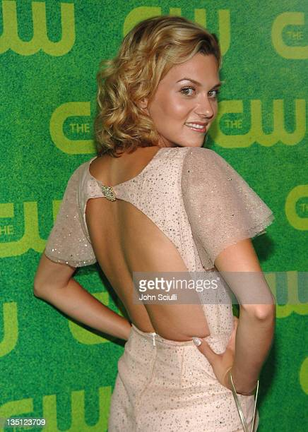 Hilarie Burton during The CW Summer 2006 TCA Party Arrivals at Ritz Carlton in Pasadena California United States