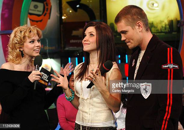 Hilarie Burton Sophia Bush and Chad Michael Murray of 'One Tree Hill'