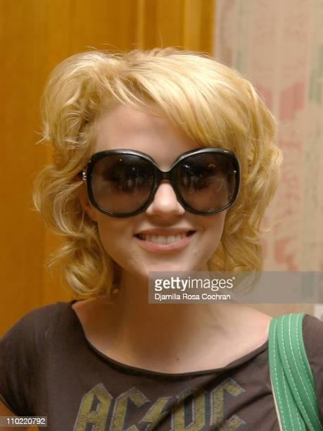 Hilarie Burton wearing Dior Glossy Sunglasses during Solstice Sunglass Boutique at the Lucky/Cargo Club Day 2 at Ritz Carlton in New York City New...