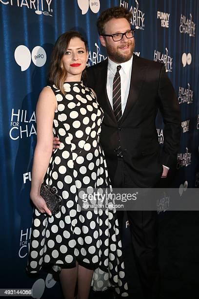 Hilarity for Charity cofounder Lauren Miller Rogen and Hilarity for Charity cofounder/event host Seth Rogen attend Hilarity for Charity's annual...