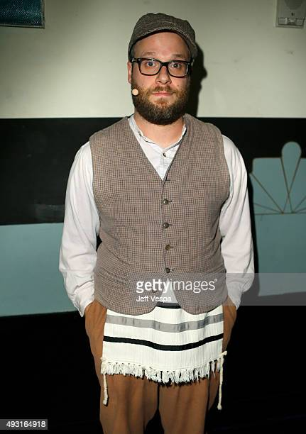Hilarity for Charity cofounder/show host Seth Rogen attends Hilarity for Charity's Annual Variety Show James Franco's Bar Mitzvah benefitting the...