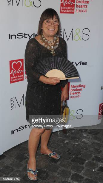 Hilary Alexander attends the British Heart Foundation Tunnel of Love event in Camden PRESS ASSOCIATION Photo Picture date Tuesday May 29 2012 Photo...