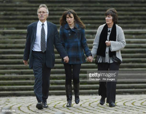Hilary and Trevor Foster leave Winchester Crown Court with their daughter Sarah after a jury found Maninder Pal Singh Kohli guilty of the rape...