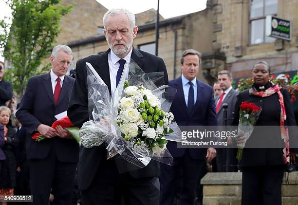 Hilary Benn MP for Leeds Central Labour Leader Jeremy Corbyn Prime Minister David Cameron and Chaplain to the Speaker of the House of Commons...