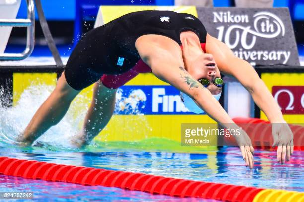 Hilary Caldwell during the Budapest 2017 FINA World Championships on July 28 2017 in Budapest Hungary