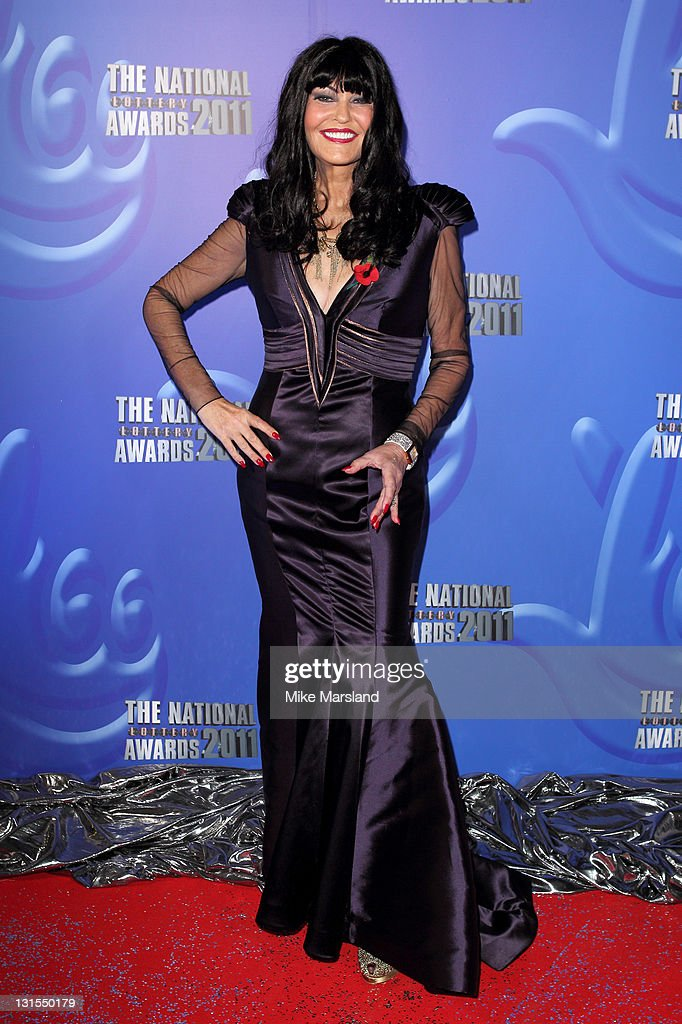 Hilary Devey attends The National Lottery Awards 2011 celebrating the UK's best Lotteryfunded projects at The London Studios on November 5 2011 in...