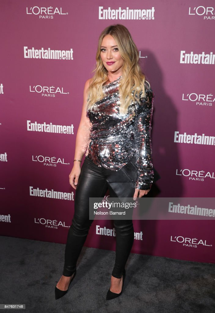 Hilary Duff attends the 2017 Entertainment Weekly Pre-Emmy Party at Sunset Tower on September 15, 2017 in West Hollywood, California.