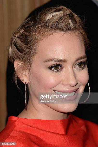 Hilary Duff attends the Viacom Kids and Family Group Upfront event at Frederick P Rose Hall Jazz at Lincoln Center on March 3 2016 in New York City