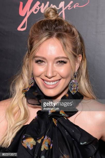 Hilary Duff attends the 'Younger' season four premiere party on June 27 2017 in New York City