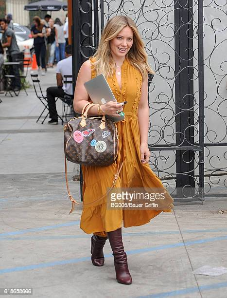 Hilary Duff is seen on October 27 2016 in Los Angeles California