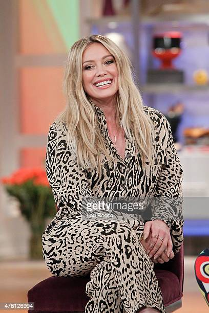 THE VIEW Hilary Duff performs on 'THE VIEW' airing Friday June 19 airing on the ABC Television Network