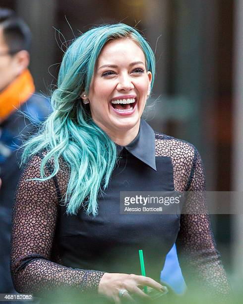Hilary Duff sighting in Midtown on March 30 2015 in New York City