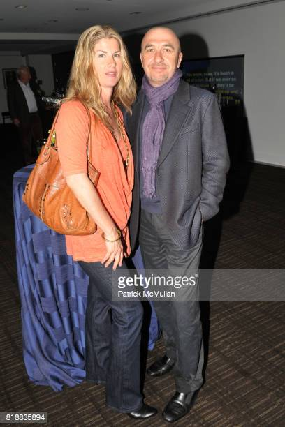 Hilary Gilford and Cono Di Zeo attend TIME INC Live and Unfiltered Presents ROUGH JUSTICE Hosted by FORTUNE at Time and Life Building Screening Room...