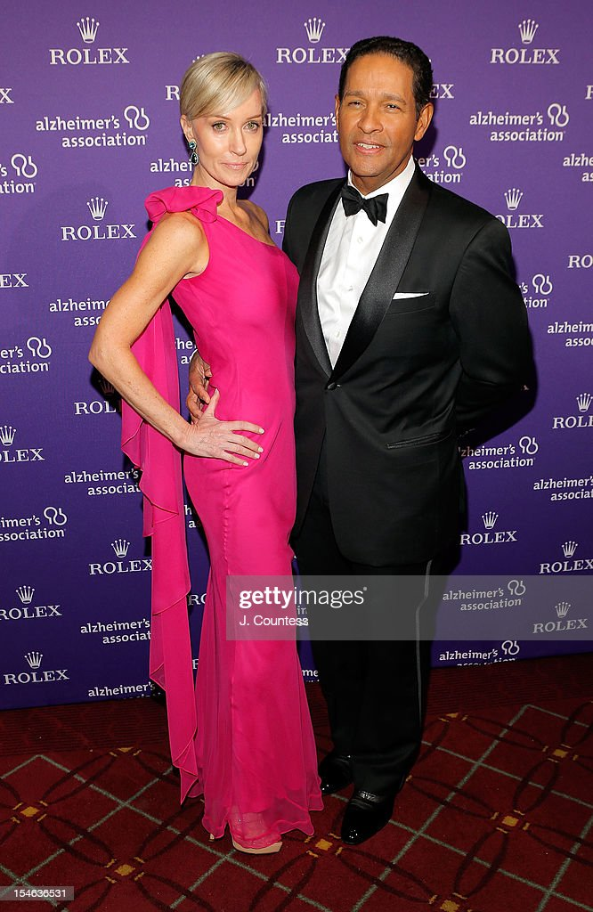 Hilary Gumble and Bryant Gumble attend the 2012 Alzheimer Association Rita Hayworth Gala at The Waldorf Astoria on October 23, 2012 in New York City.