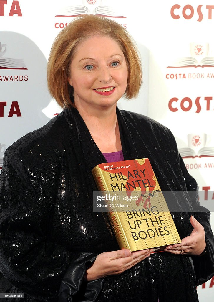 Hilary Mantel attends the Costa Book of the Year awards at Quaglino's on January 29, 2013 in London, England.