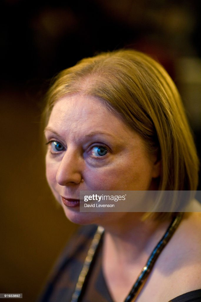 <a gi-track='captionPersonalityLinkClicked' href=/galleries/search?phrase=Hilary+Mantel&family=editorial&specificpeople=590045 ng-click='$event.stopPropagation()'>Hilary Mantel</a> , author of 'Wolf Hall', the winner of the 2009 Man Booker Prize, poses for a portrait at the Cheltenham Literature Festival on October 15, 2009 in Cheltenham, England.