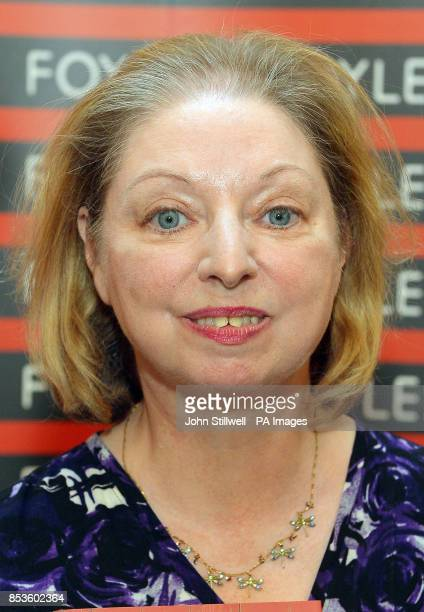 Hilary Mantel officially opens Foyles new flagship bookshop on Charing Cross Road London as it has been announced that she will be awarded a Damehood...