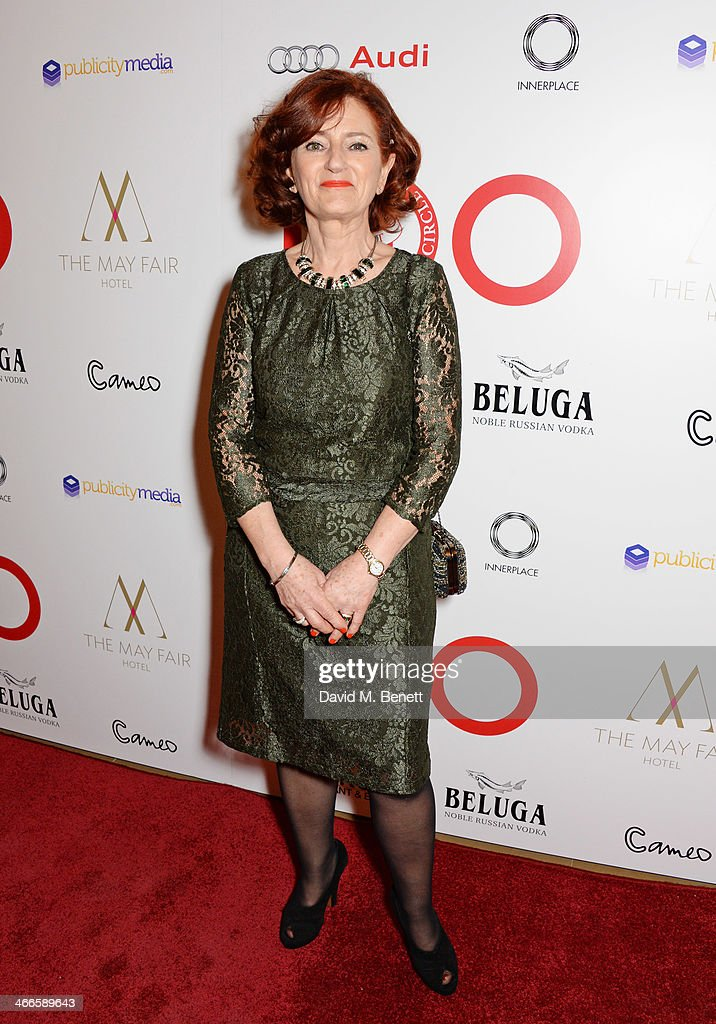 Hilary Oliver attends the London Critics' Circle Film Awards at The Mayfair Hotel on February 2, 2014 in London, England.