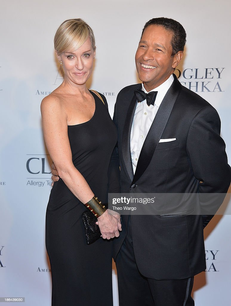 Hilary Quinlan and Bryant Gumbel attends American Ballet Theatre 2013 Opening Night Fall gala at David Koch Theatre at Lincoln Center on October 30, 2013 in New York City.