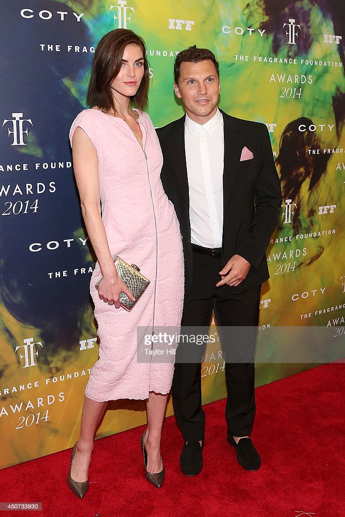 Hilary Rhoda and Sean Avery attend 2014 Fragrance Foundation awards at Alice Tully Hall, Lincoln Center on June 16, 2014 in New York City.