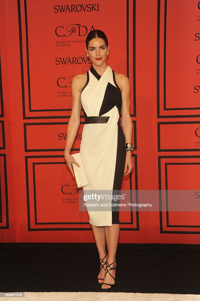 Hilary Rhoda attends 2013 CFDA Fashion Awards at Alice Tully Hall on June 3, 2013 in New York City.
