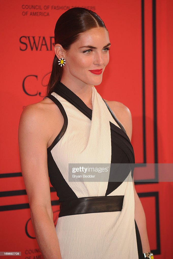 Hilary Rhoda attends 2013 CFDA FASHION AWARDS Underwritten By Swarovski - Red Carpet Arrivals at Lincoln Center on June 3, 2013 in New York City.