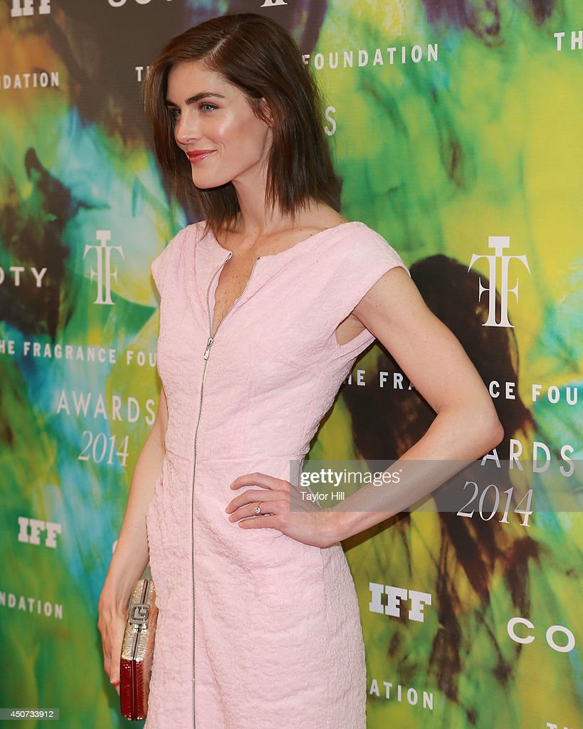 Hilary Rhoda attends 2014 Fragrance Foundation awards at Alice Tully Hall, Lincoln Center on June 16, 2014 in New York City.