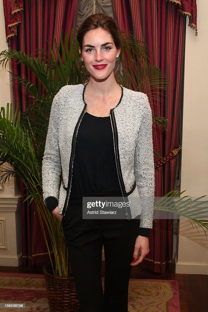 Hilary Rhoda attends Derek Blasberg For Opening Ceremony Stationery Launch Party at Saint Regis Hotel on December 18, 2012 in New York City.