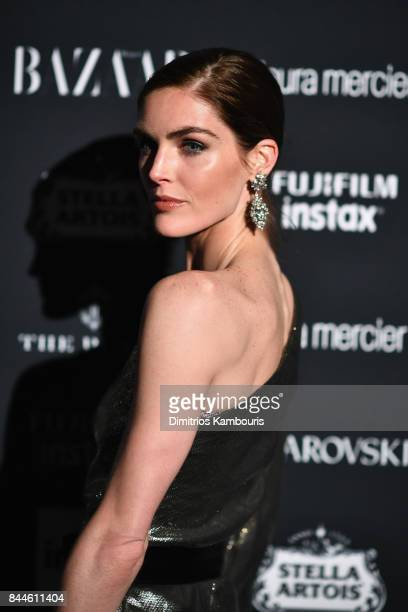 Hilary Rhoda attends Harper's BAZAAR Celebration of 'ICONS By Carine Roitfeld' at The Plaza Hotel presented by Infor Laura Mercier Stella Artois...