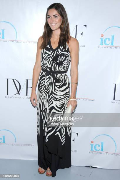 Hilary Rhoda attends INSTITUTE FOR CIVIC LEADERSHIP 2010 Spring Benefit at DVF Studio on June 15 2010 in New York City