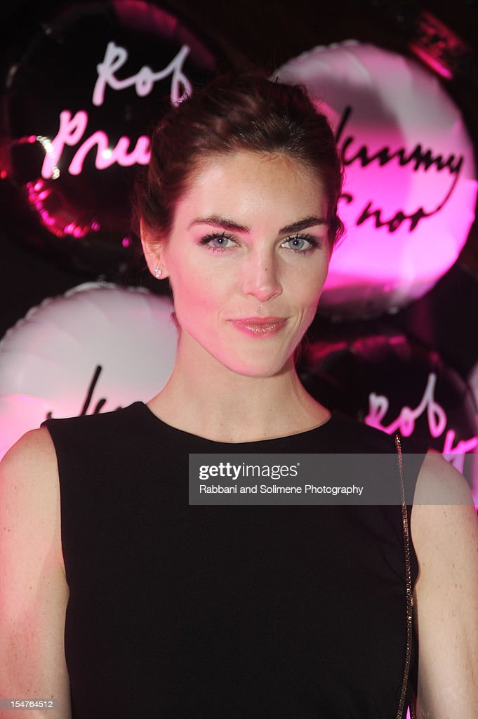 Hilary Rhoda attends Jimmy Choo Celebrates the Launch of the Exclusive Collaboration with Artist Rob Pruitt at The Fletcher Sinclair Mansion on October 25, 2012 in New York City.