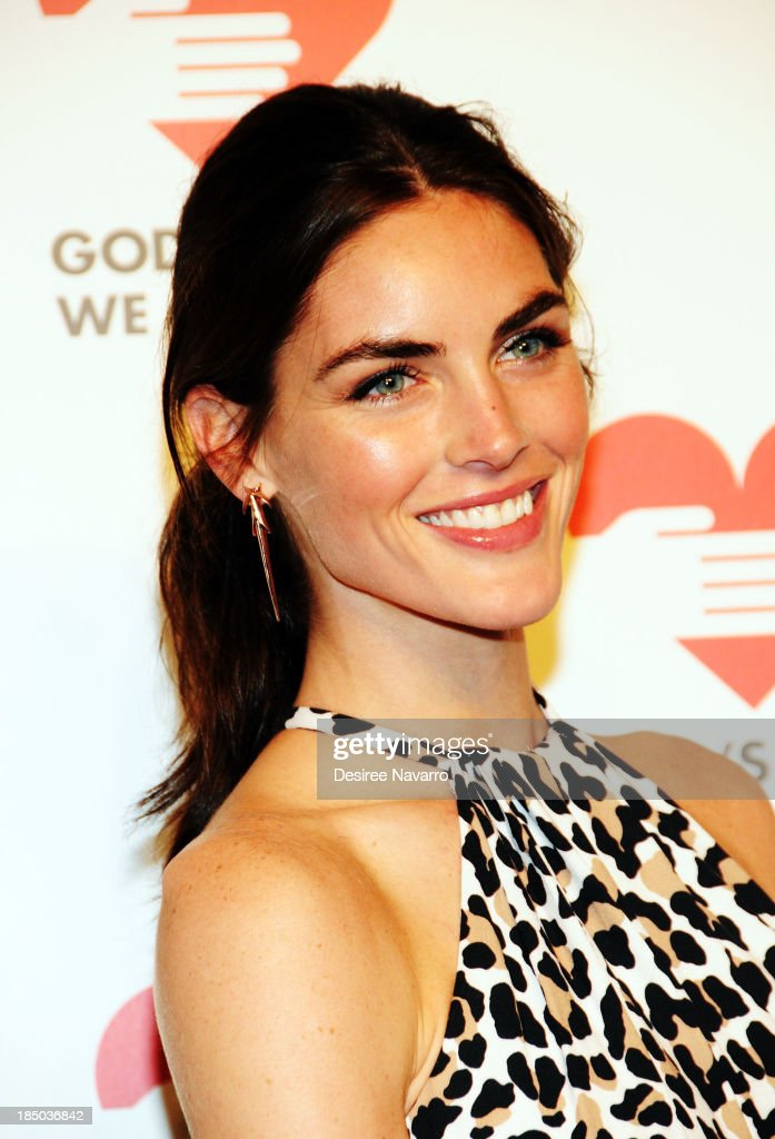 Hilary Rhoda attends the 2013 God's Love We Deliver 2013 Golden Heart Awards Celebration at Spring Studios on October 16, 2013 in New York City.