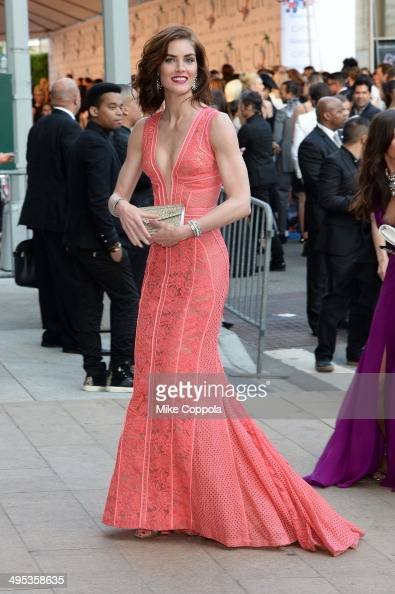 Hilary Rhoda attends the 2014 CFDA fashion awards at Alice Tully Hall Lincoln Center on June 2 2014 in New York City