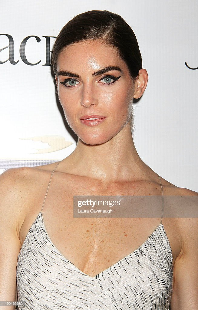 Hilary Rhoda attends the 2014 Young Friends Of ACRIA Summer Soiree at Highline Stages on June 11, 2014 in New York City.